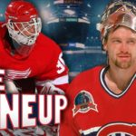 Top 10 Greatest NHL Goalies of All Time - The Lineup Ep. 7! 6