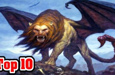 Top 10 Creatures From PERSIAN MYTHOLOGY 1