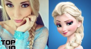 Top 10 People That Look Like Disney Characters 3