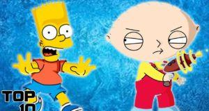 Top 10 Most Hated Cartoon Characters 3