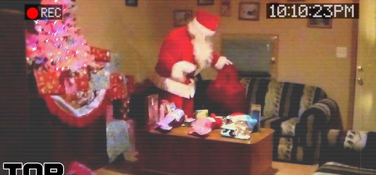 Top 10 Times Santa Was CAUGHT On Camera 1