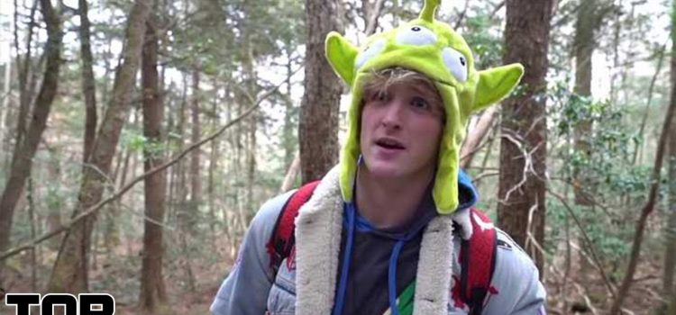 Top 10 YouTubers Who Visited The Japanese Suicide Forest - Logan Paul 1