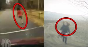10 Scariest Things Caught on Dashcam 2
