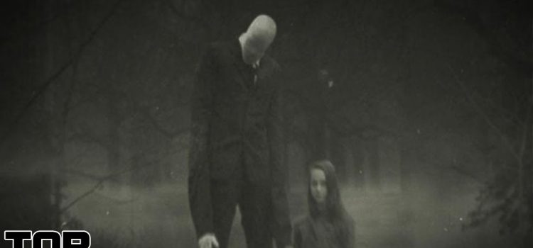 Top 10 Scary Slenderman Sightings 1
